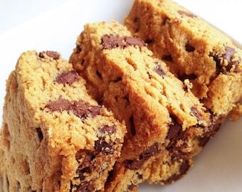 Blondies Chocolate Chip Peanut Butter Blondies - Brownies - Chocolate Chip - Peanut Butter