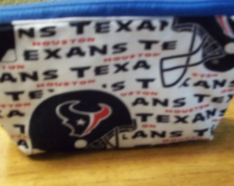 Texan Cosmetic Bag for Women, Teens handmade by Mvious Da'zigns