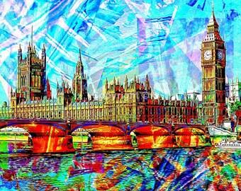 Houses of Parliament London - Print Run of 100