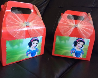 Disney Princess Snow white Birthday favor Box