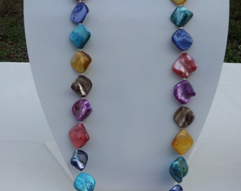 Handmade shell necklace  #00N30