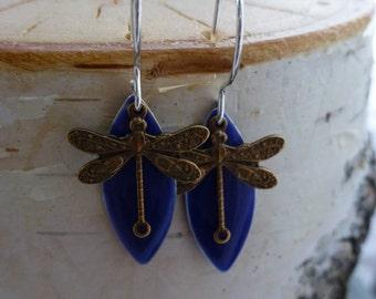 Sweet Dragonfly Earrings