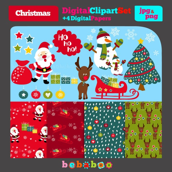 Bebaboo Digital Clip Art $5.13 Etsy