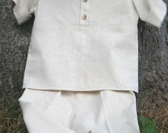 Baby Cotton Outfit - Made to order