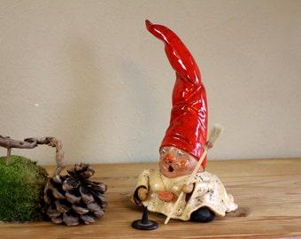"Gnome, Ceramic figure ""Emma"""