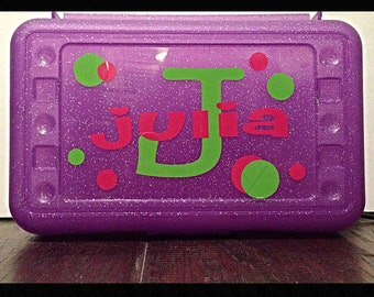Personalized Pencil Box/Case - Back to School Sale