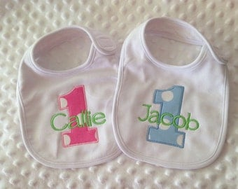Personalized Bib - Cake Smash Bib