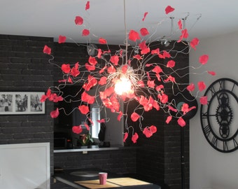 "Kit ""chandelier rose petals"" fushia"