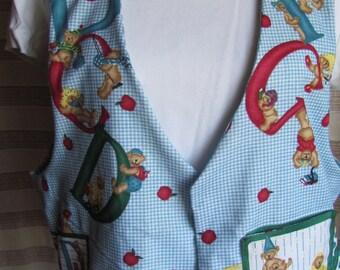 Back-to-school adult vest