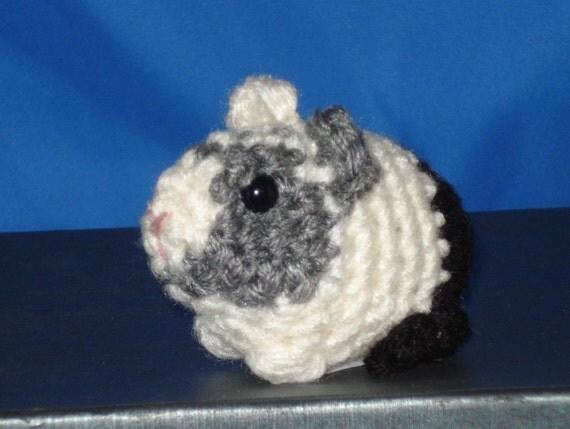 Amigurumi Baby Guinea Pig : Amigurumi Baby Guinea Pig 162C by AmysKeepsakeCrafts on Etsy