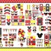 Mickey Mouse Party Mickey mouse Birthday, Mickey mouse clubhouse, black, red, yellow Mickey printable