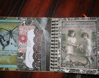 Scrapbook album/journal hope, support, encouagement,inspirational