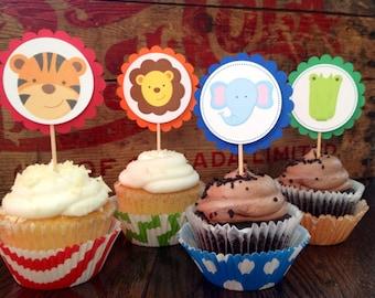 Safari Cupcake Toppers