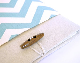 Chevron iPad Case, iPad Air Case, iPad Air Sleeve, Asus Transformer Book, Padded with Pocket