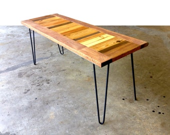 Assorted Reclaimed Wood Coffee Table