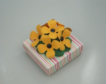 Hand-decorated Keepsake Box/Jewelry Gift Box