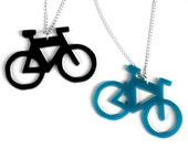 Acrylic Bicycle Charms