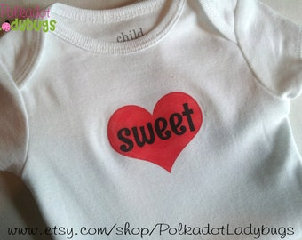 Sweetheart 3 to 6 month Onesie