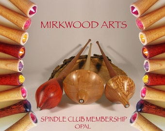 Mirkwood Opal Supported Spindle Club -  One Year Membership Subscription
