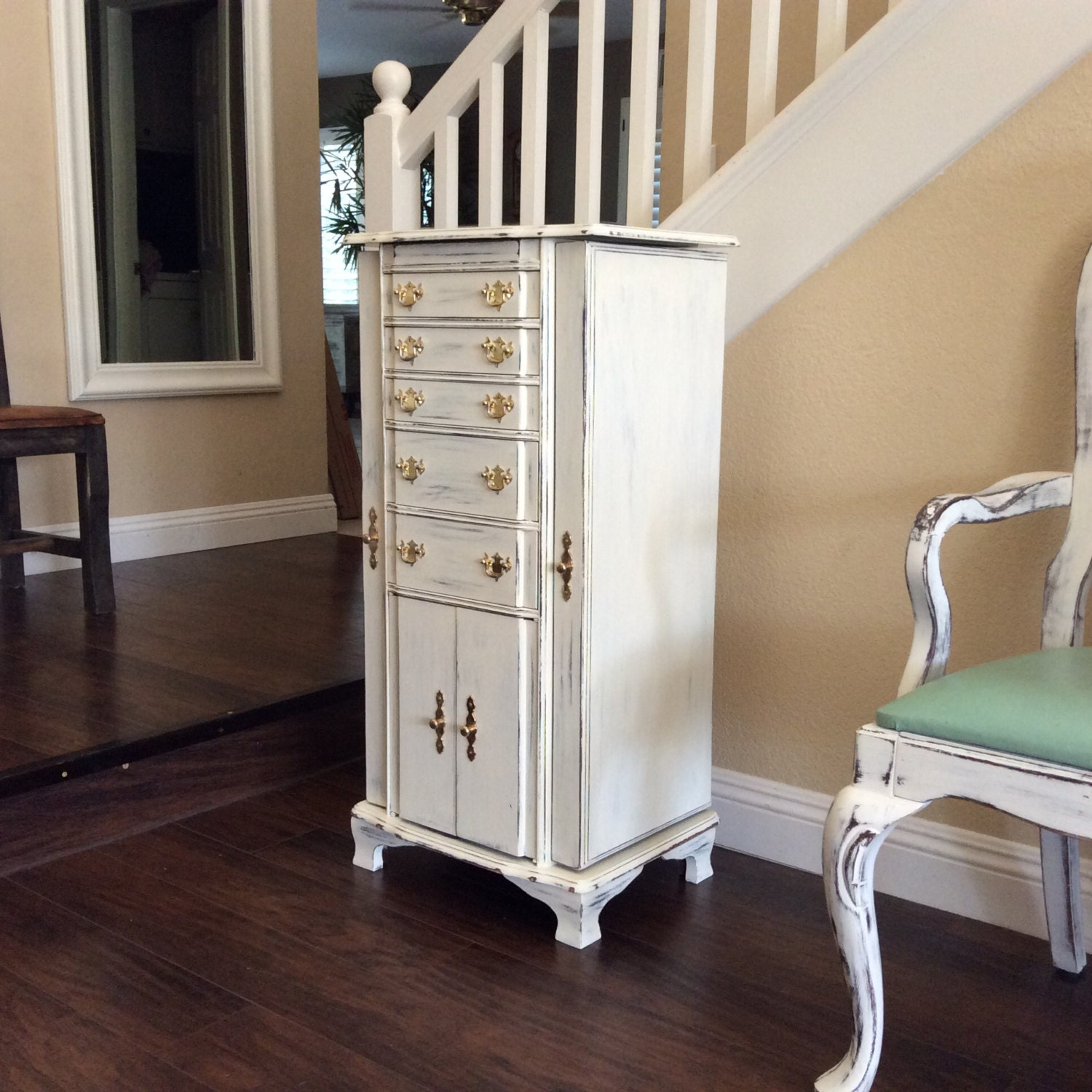 large white jewelry armoire for sale jewelry chest with pink. Black Bedroom Furniture Sets. Home Design Ideas