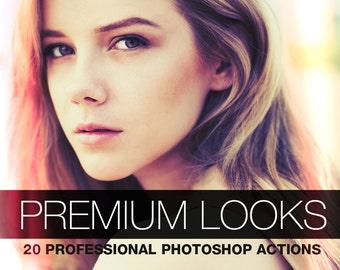 Premium Looks - 20 Photoshop Actions