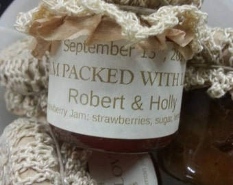 Jam Wedding Favor (1.5oz) - Choose Your Flavor