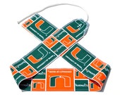 University of Miami - Weight Lifting Wrist Wraps