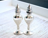 LaFrance Silver Salt & Pepper Shakers Made In The USA / American Silver Salt Shaker / Thanksgiving Decor