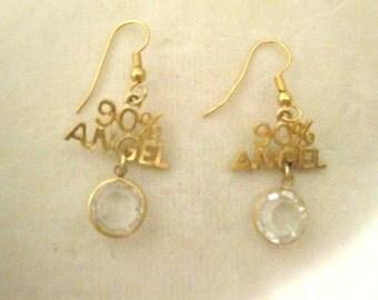 90% Angel Pierced Earrings