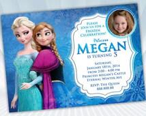 Frozen Invite