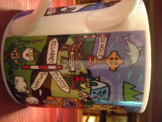 Ireland Shamrock Gift Co Dublin Ireland Ceramic Mug