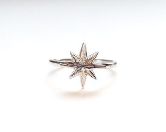 Star Stack Ring in sterling Silver