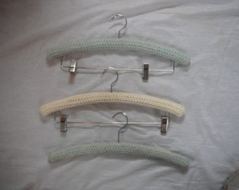 Vintage Padded Clothes Hanger