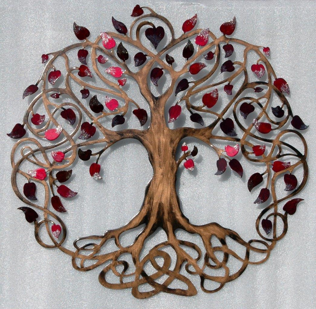 tree of life infinity tree wall decor by humdingerdesignsetsy. Black Bedroom Furniture Sets. Home Design Ideas