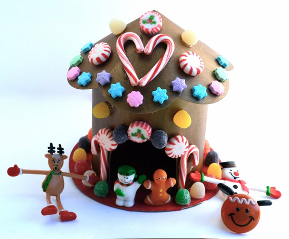 Christmas Candy Craft House Kit
