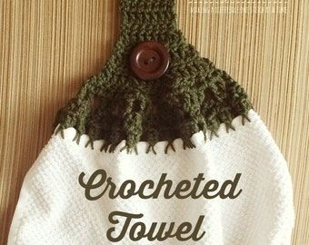 Ruffled Crochet Dishcloth | Chickens in the Road