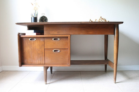 Mid Century Hooker Mainline Desk Amp Chair Vintage Danish
