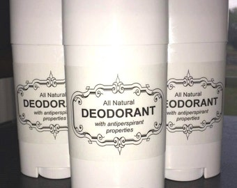 All Natural Deodorant with Antiperspirant Properties *NEW FORMULA*