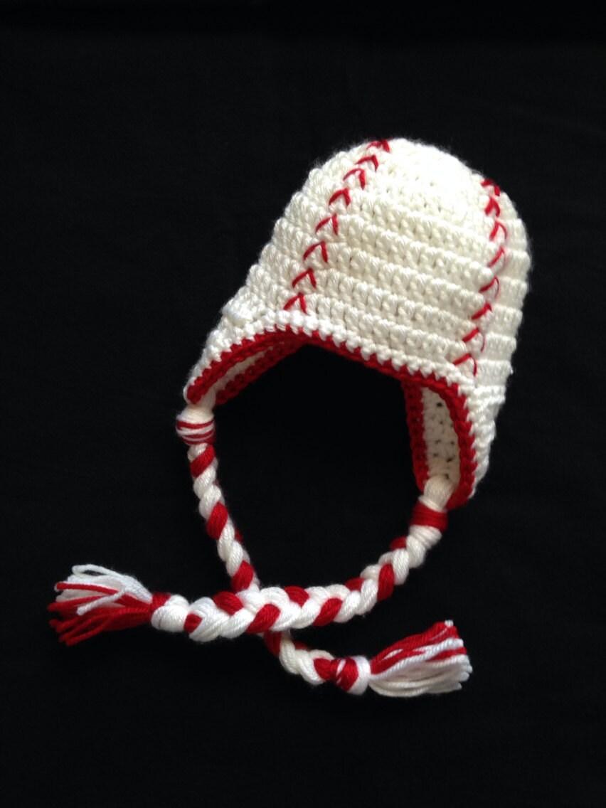 newborn baseball hat crochet baseball hat baby baseball hat