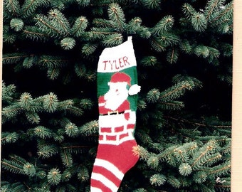 Christmas Stocking Pattern, Santa