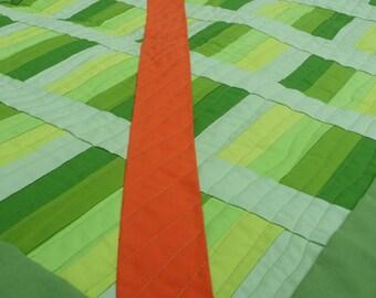 Modern Quilt, Green Quilt, Wall Quilt, Art Quilt, Contemporary Quilt, Modern Baby Quilt, Ombre Quilt, Home Decor,