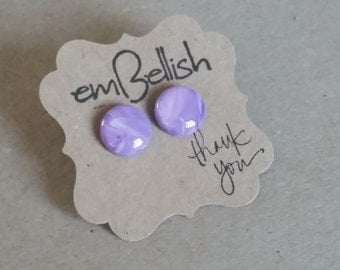 Polymer Clay  and Resin Studs *free shipping*