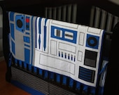 Star Wars Baby Bedding--R2-D2--Custom Crib Bedding--With OR Without Bumpers