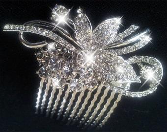 Rhinestone Comb, Bridal Comb, Bridal Comb Crystal, Wedding Crystal Hair Comb, Hair Comb, Wedding Accessory, Bridal Headpiece, Bridal Comb