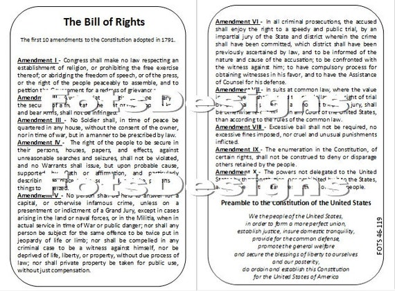 the preamble and bill of rights Another excellent edsitement lesson for learning about the bill of rights and  the constitution is the preamble to the constitution: how do you make a more.
