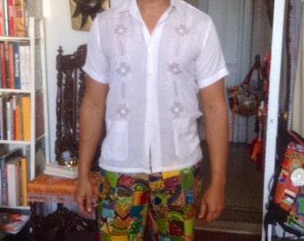 Men's Patchwork Shorts