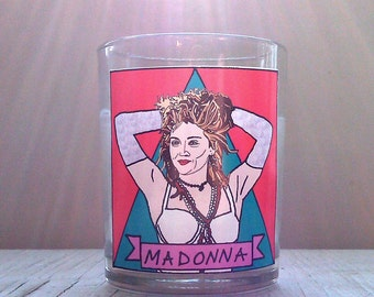 Madonna Glass Votive Candle // LGBTQ Altar Candle