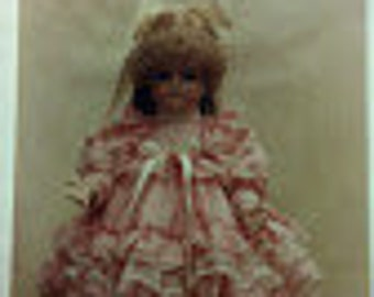 Doll Dress Pattern, BS-183, 184, and 185