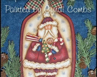 Americana Santa by Cyndi Combs, email pattern packet