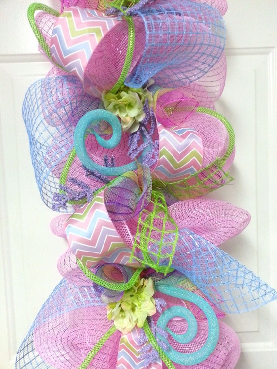 Deco Poly Mesh Wreath Tutorial Using Raz Cookie Decorations additionally 933043 as well Halloween Witch Hat Deco Mesh Wreath moreover Spring Garland Easter Garland Deco Mesh also Raz 2017 Christmas Trees. on deco mesh tubing ideas